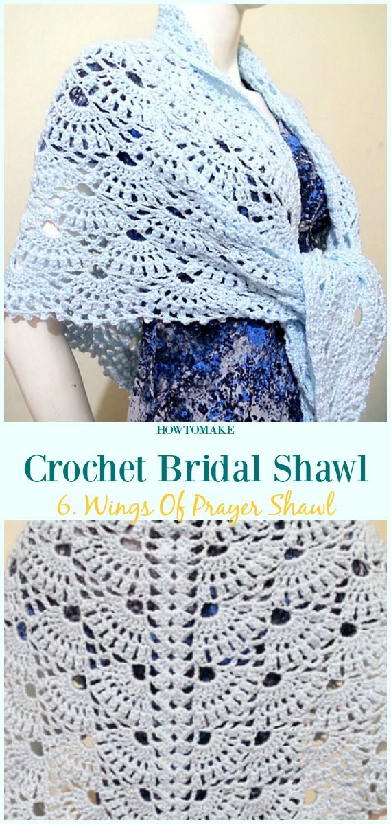 Crochet Bridal Shawl Free Patterns For Wedding Elegance | Crochet ...