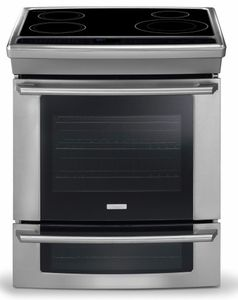 Ew30is65js Electrolux 30 Electric Built In Range With Induction Cooktop Stainless Steel Induction Range Induction Cooktop Convection Range