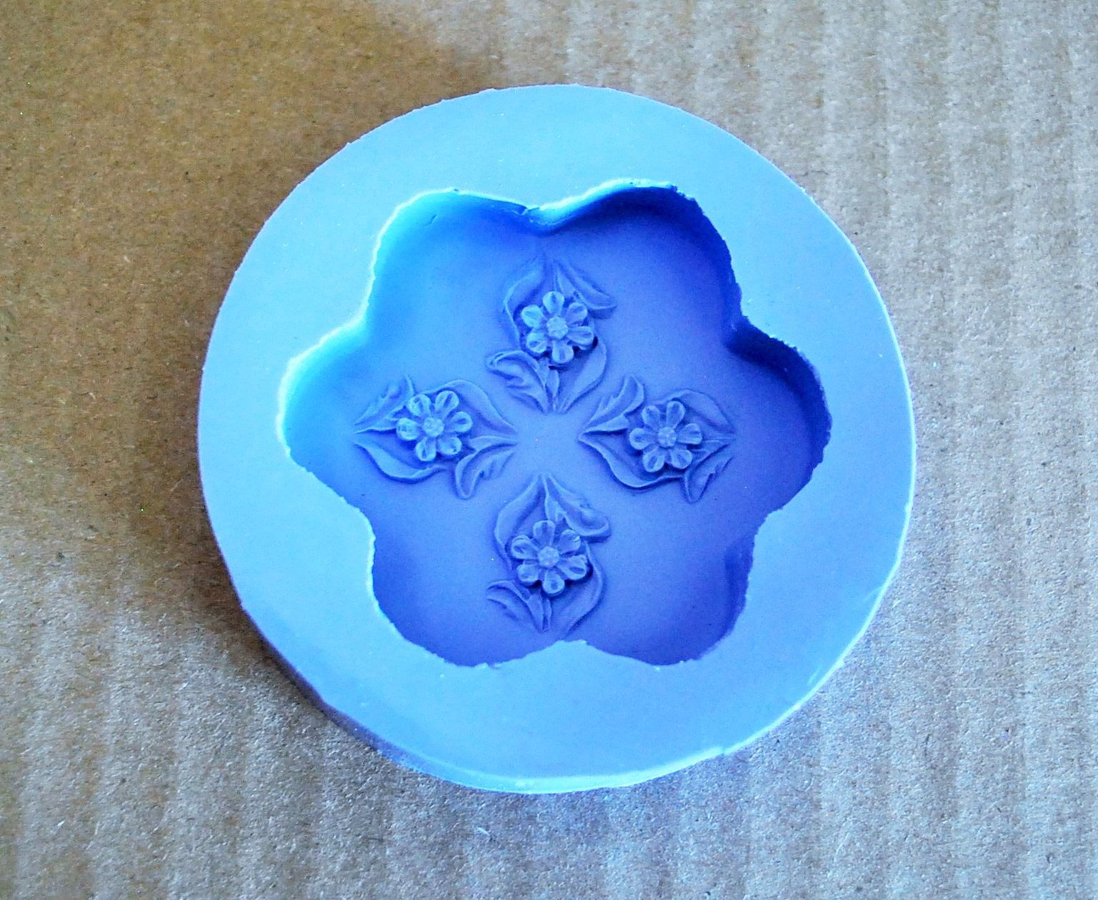 Silicone flower mold silicone soap Mold flower Soap