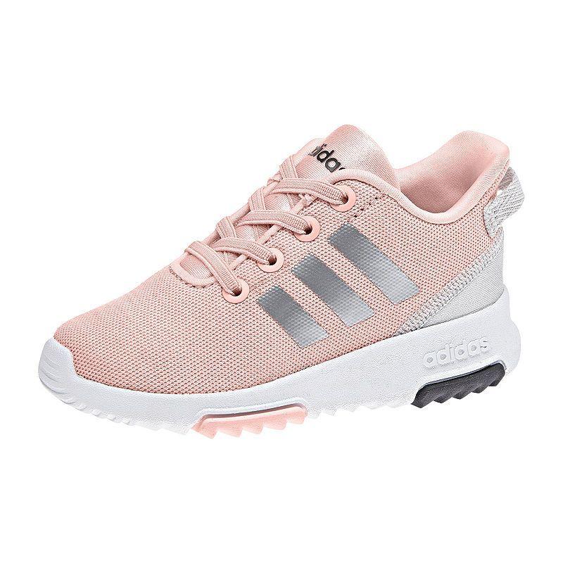 adidas Cloudfoam Racer Tr K Girls Running Shoes Little
