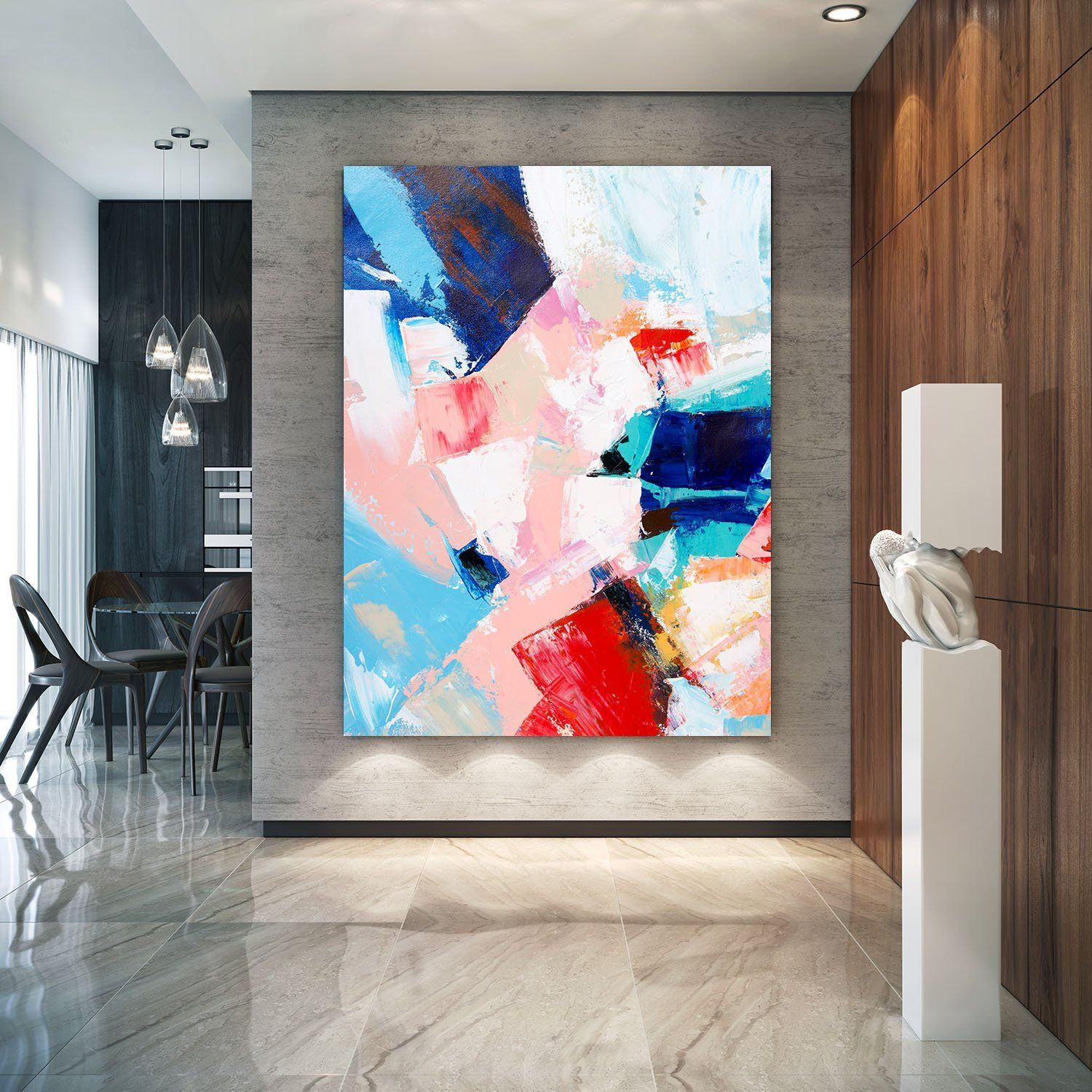 Extra Large Wall Art On Canvas Original Abstract Paintings Etsy Extra Large Wall Art Large Abstract Wall Art Large Wall Art