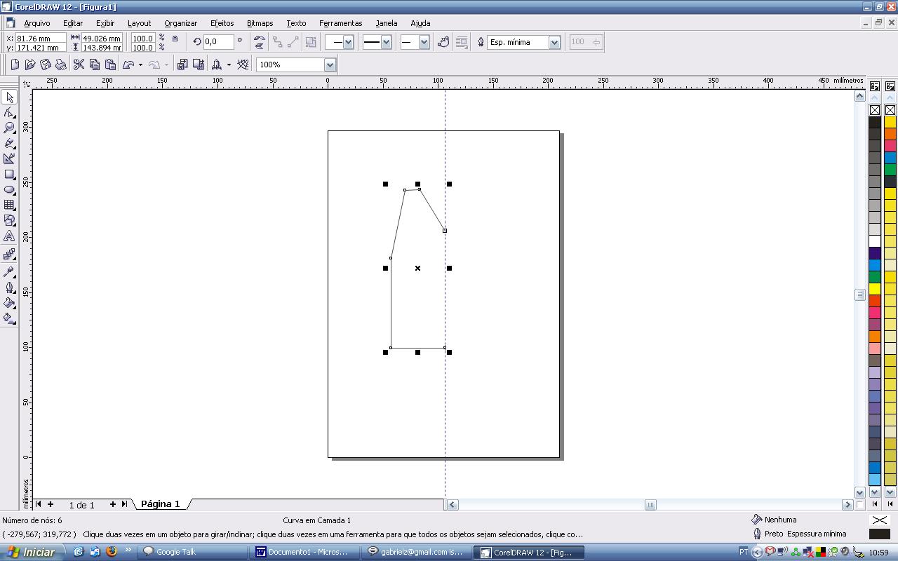 Corel Draw Desenho Tecnico Basico Para Camiseta Desenhos De