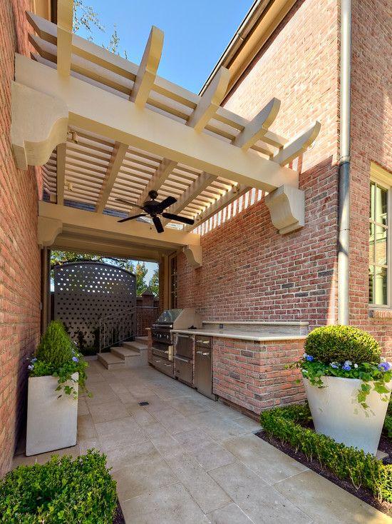 Outdoor Kitchen Pergola Design Ideas Pictures Remodel And Decor Patio Design Pergola Modern Patio