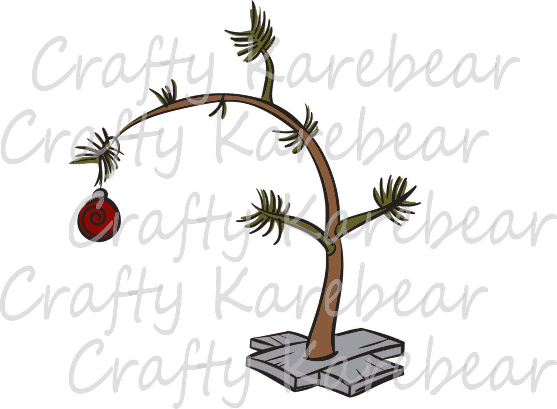 Charlie Brown Christmas Tree Svg And Dxf Digital File Download Etsy In 2020 Charlie Brown Christmas Tree Christmas Svg Charlie Brown Tree