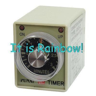 $11.22 (Buy here: https://alitems.com/g/1e8d114494ebda23ff8b16525dc3e8/?i=5&ulp=https%3A%2F%2Fwww.aliexpress.com%2Fitem%2FFree-Shipping-AH3-2-Rotary-Knob-DPDT-8Pin-0-3Min-Timing-Time-Relay-AC-220V-w%2F2030803507.html ) Free Shipping AH3-2 Rotary Knob DPDT 8Pin 0-3Min Timing Time Relay AC 220V w LED Indicator for just $11.22