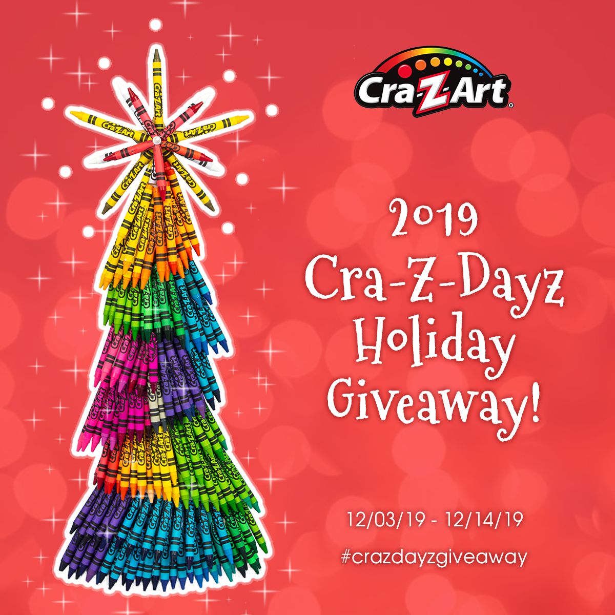 It S Cra Z Art S 2019 Cra Z Dayz Holiday Giveaway Enter Each Day For Your Chance To Win Crazdayzgiveaway Itunes Gift Cards Christmas Sweepstakes Giveaway