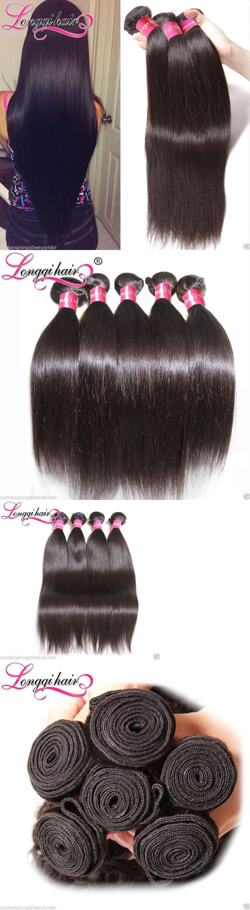 Hair Extensions 300g Peruvian Hair 3 Bundles 100 Peruvian Straight