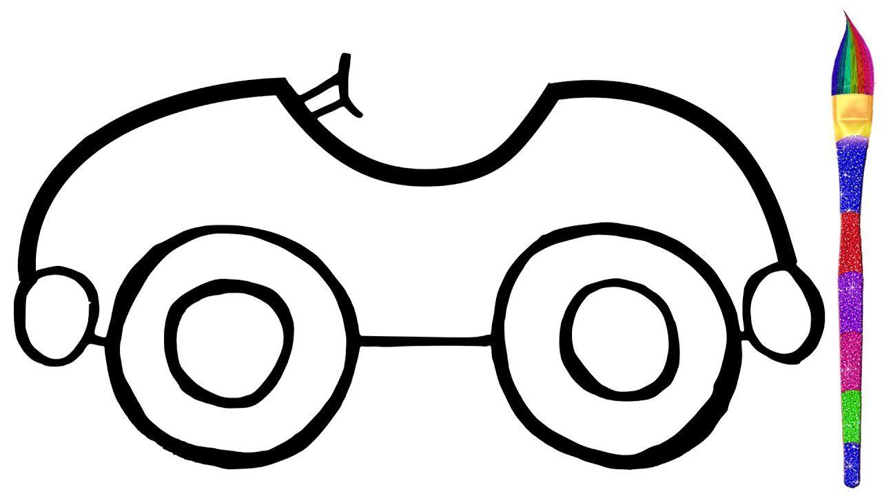 Belajar Mobil Liar Untuk Anak Anak Mainan Mobil Menggambar Dan