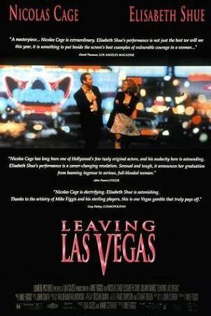 Leaving Las Vegas Nicolas Cage Carteles De Cine Elisabeth Shue