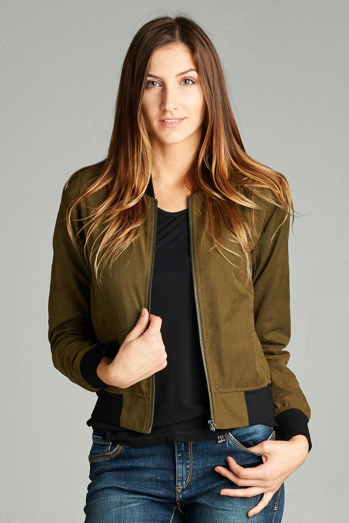 Shop 1, Share 1 FREE Entire Site. Spread love through fashion // Soft Touch Bomber Jacket. Perfect for Fall style.  www.anotherloveclothing.com