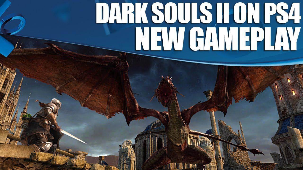 Dark Souls 2 New Ps4 Gameplay 1080p 60fps