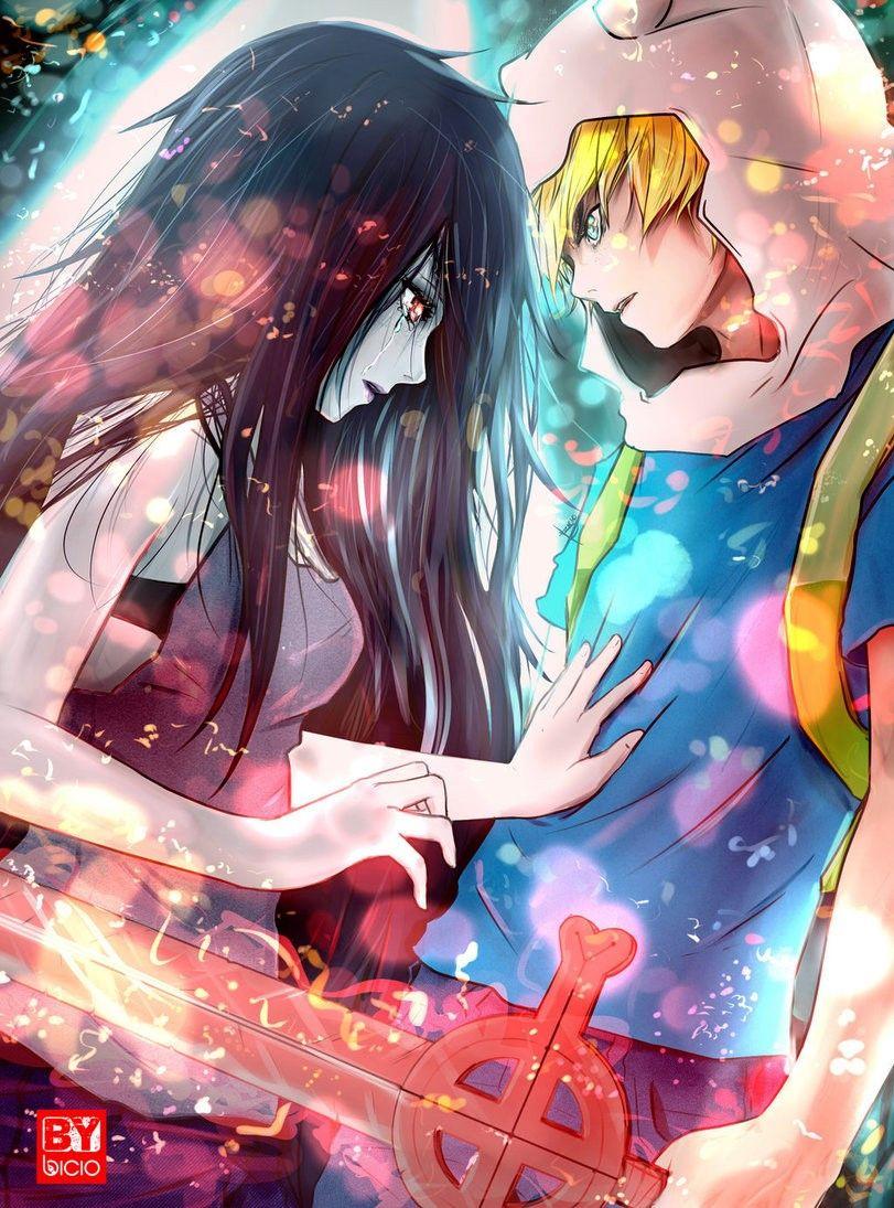 - Adventure Time - Finn x Marceline