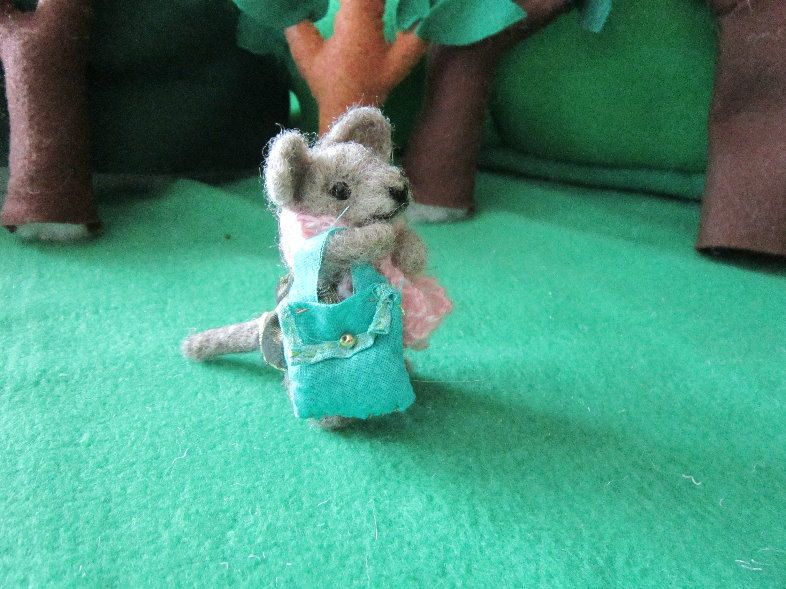 needle felted animal-Herb mouse, felted mouse, miniature animal $45 by EnchantedLandofFelt on Etsy www.EnchantedLandofFelt.com www.enchantedlandoffelt.etsy.com #needlefeltedanimal, #feltedanimal, #feltedminiature, #animalminiature, #miniatureanimal, #needlefelting, #feltanimal, #feltedanimals, #fiberart, #feltdecor, #softsculpture