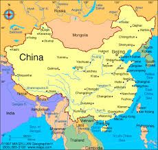 Map Of China Yellow River.Map Of China Maps Geography China China Map China Travel