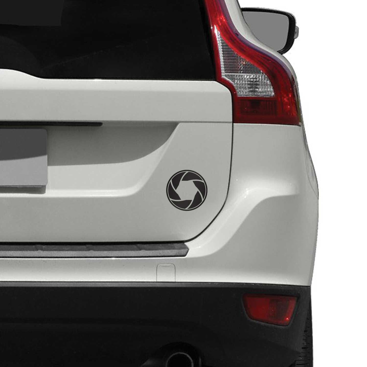 Camera Aperture Car Decal for Cars, Trucks and Motorcycles by ...