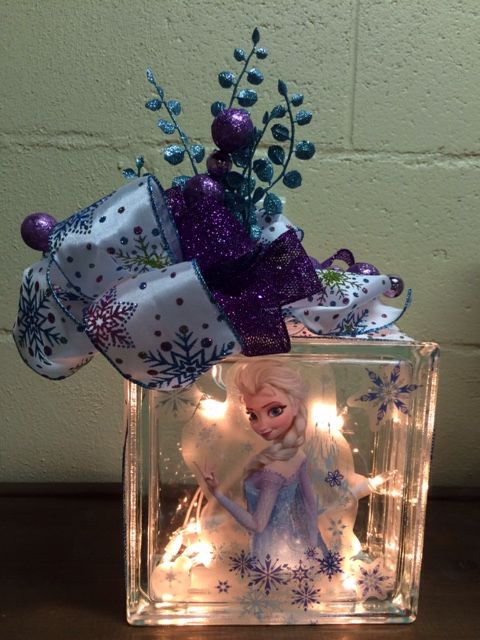 Vinyl Cling From Walmart And Ribbon From Michaels Lighted Glass