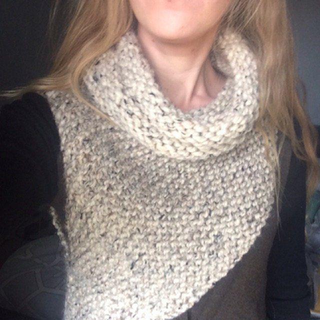 Knitting Pattern Katniss Cowl Huntress Vest   Etsy ...
