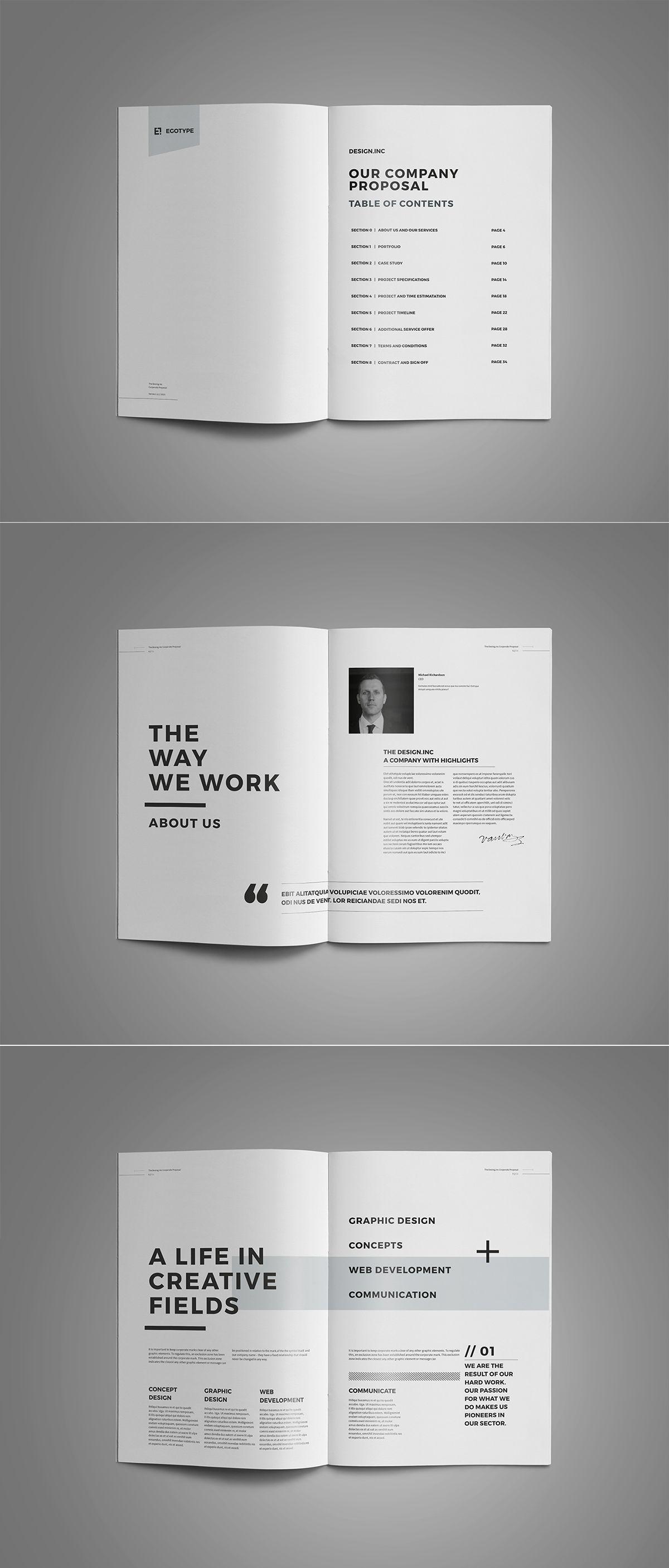 free adobe indesign brochure template artfans design.html