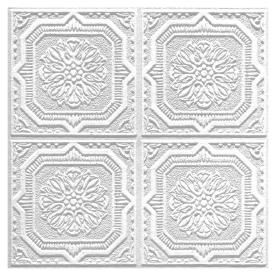 Could Paint With Cooper Metallic Armstrong 40 Pack 12 In X 12 In Tin Look Wellington Hom Acoustic Ceiling Tiles Faux Tin Ceiling Tiles Ceiling Tiles