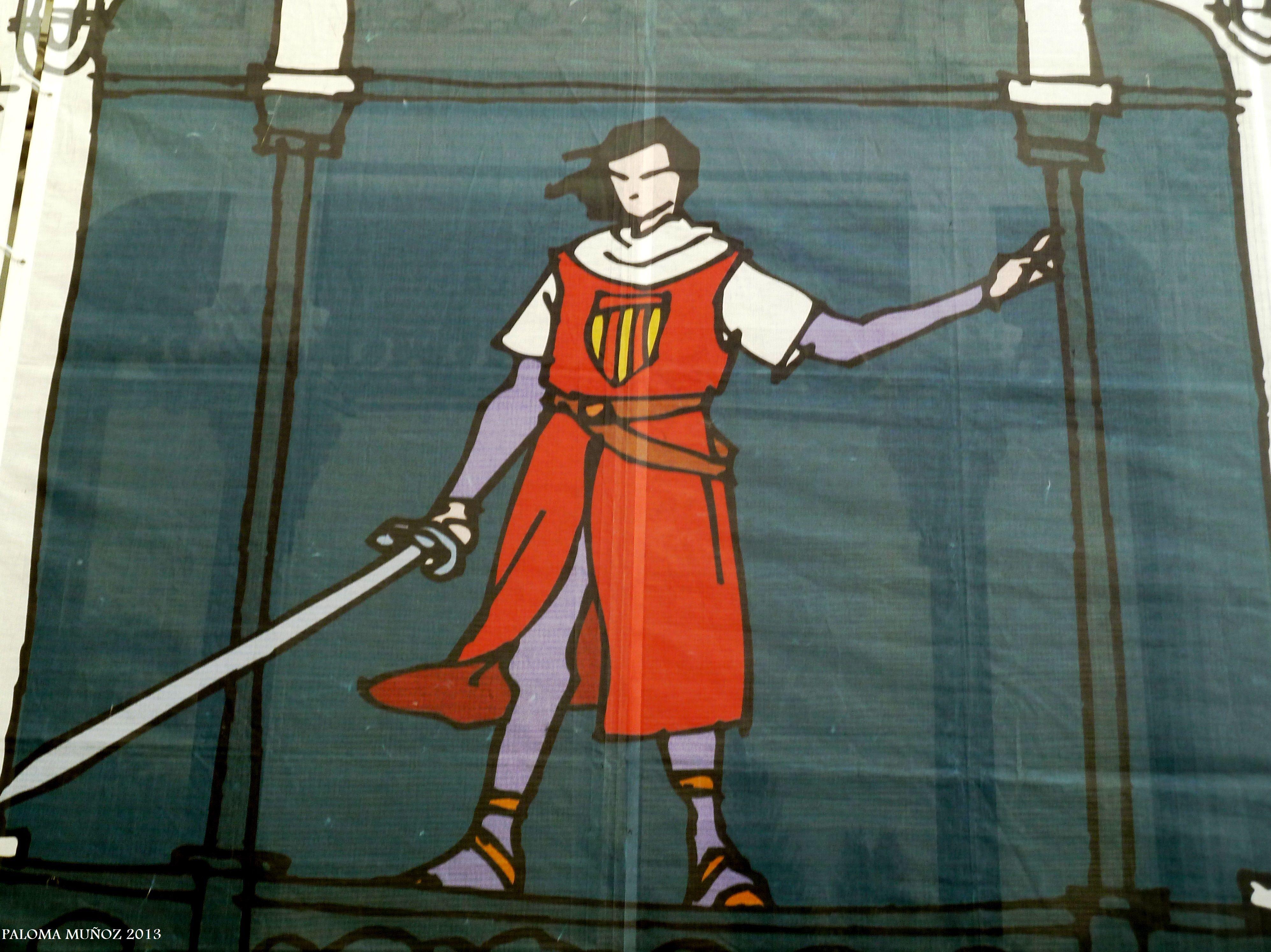 """""""El príncipe Valiente"""" de Harold Foster. Expo Comic La Coruña. """"Prince Valiant"""" by Harold Foster. Comic Expo La Coruna"""