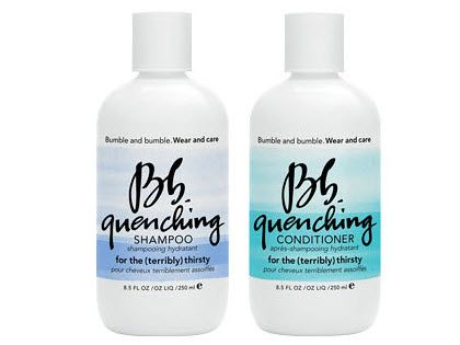 Florence Welch - Bumbel & Bumble Quenching Shampoo and Conditioner