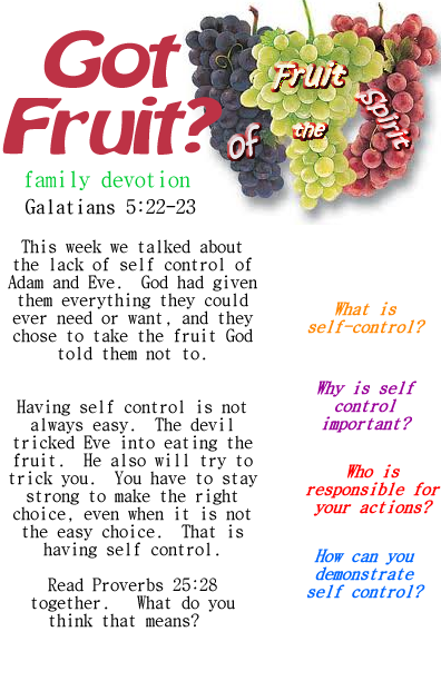 Got Fruit Selfcontrol Png 396 612 Pixels Fruit Of The Spirit Family Devotions Bible Lessons For Kids