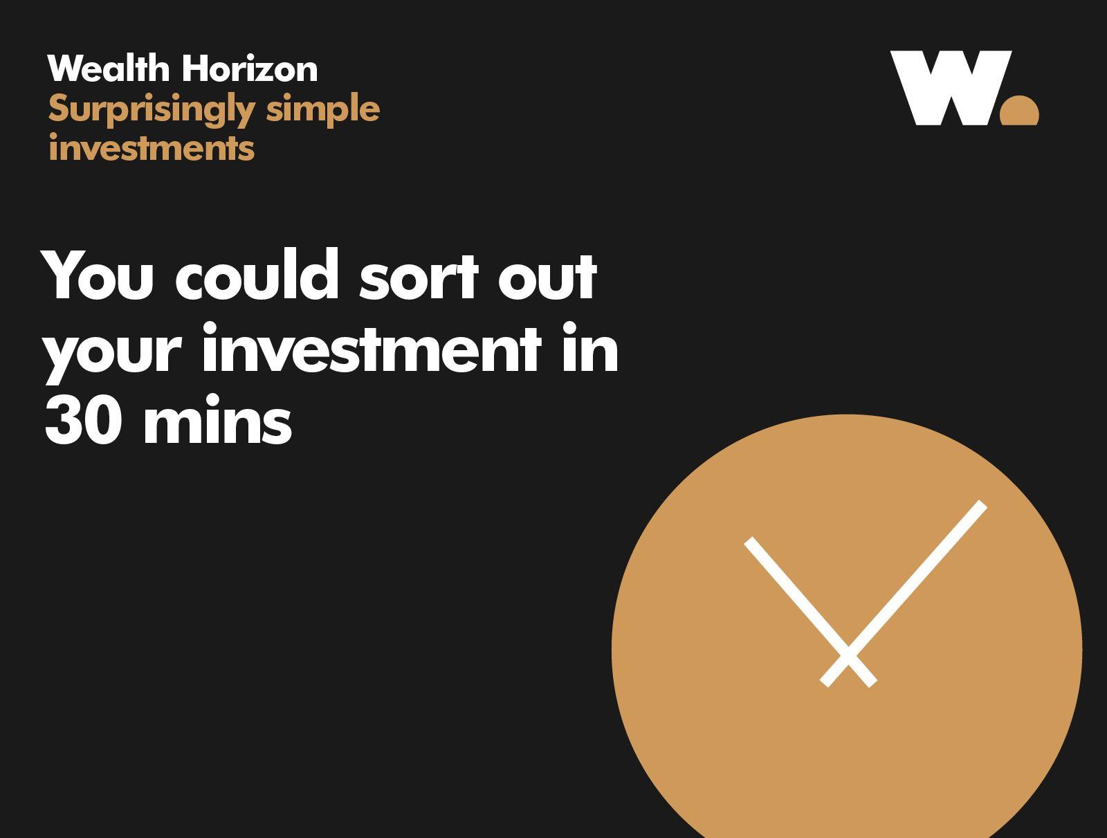 Wealth Horizon — Mytton Williams — Brand Design Agency, Bath