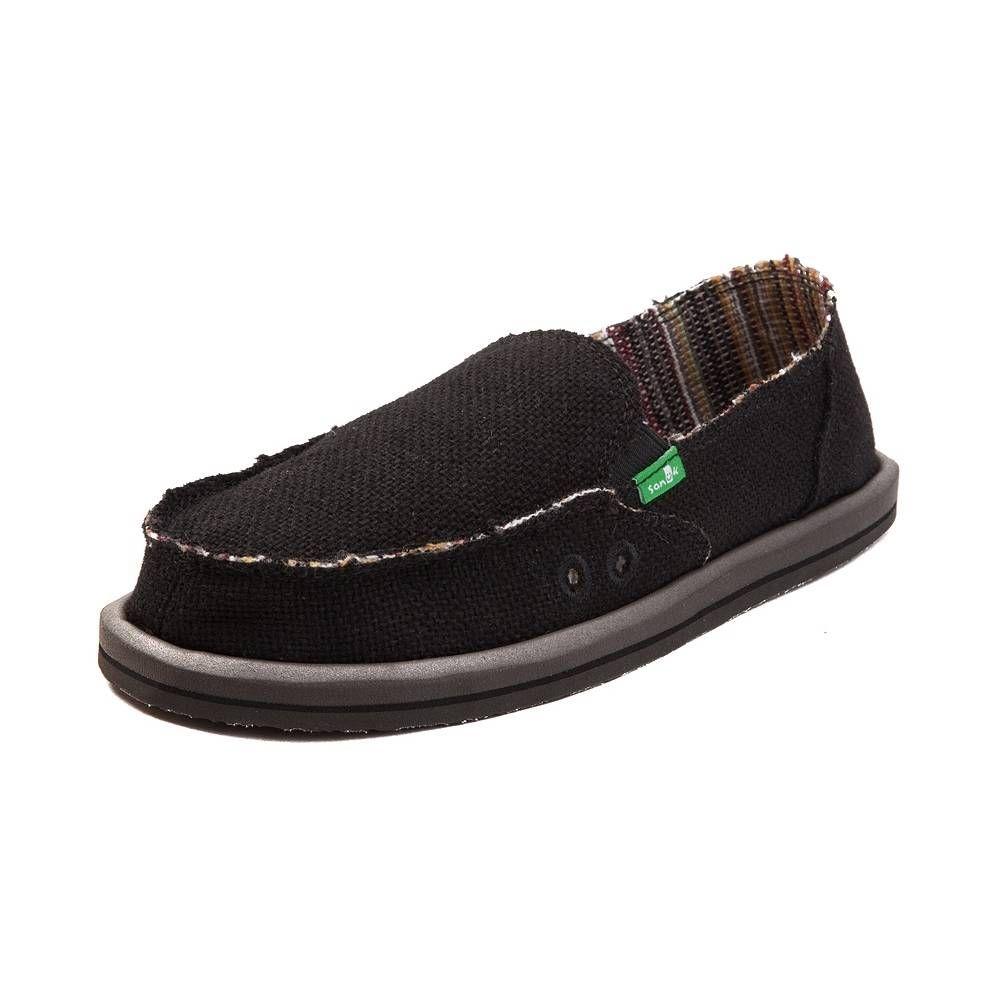 Womens Sanuk Donna Hemp Slip On Casual Shoe