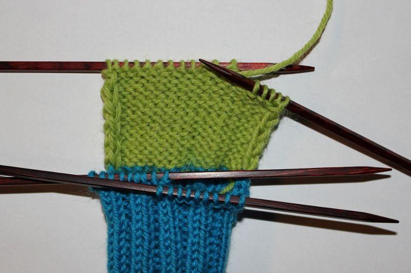 strikke hæl | Sokker | Sokker, Strikking og Garn