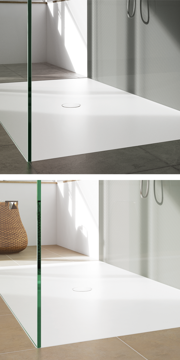 Our Shower Surface Scona Can Offer Wellness In Every Bathroom I Unsere Duschflache Scona Kann In Jedem Bad Wellness