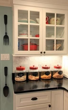 Super Kitchen Red Grey Teal 61+ Ideas images