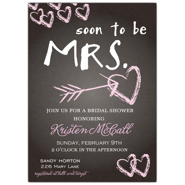 Bridal Shower Invitations Michaels