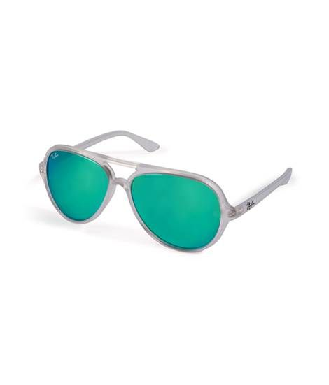 Cats5000 Mirrored Sunglasses in Matte Transparent von Ray-Ban