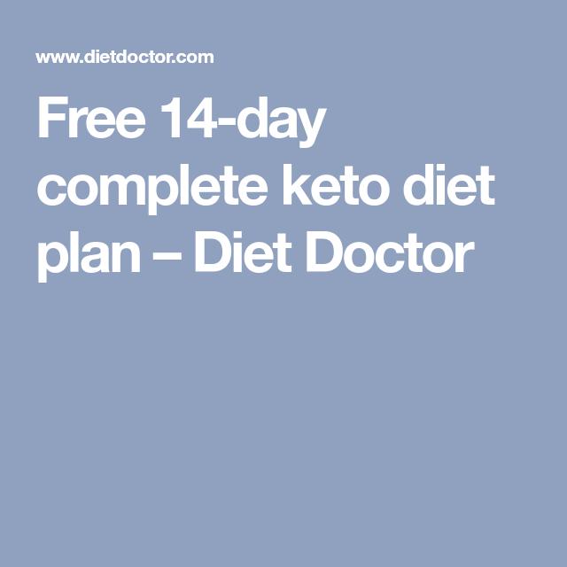 Diet Doctor Keto Plan