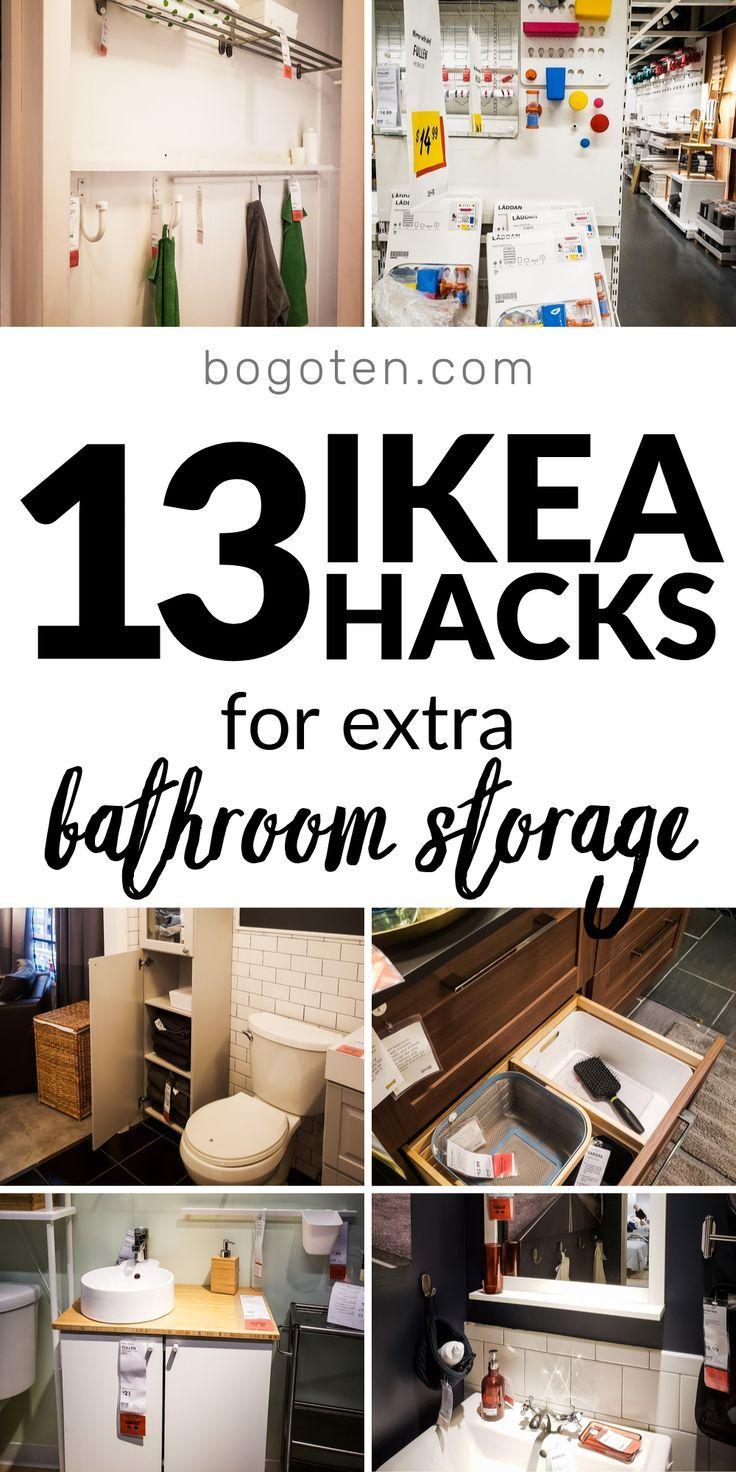 Photo of 13 Ikea Bathroom Hacks that Will Keep Your Bathroom Tidy