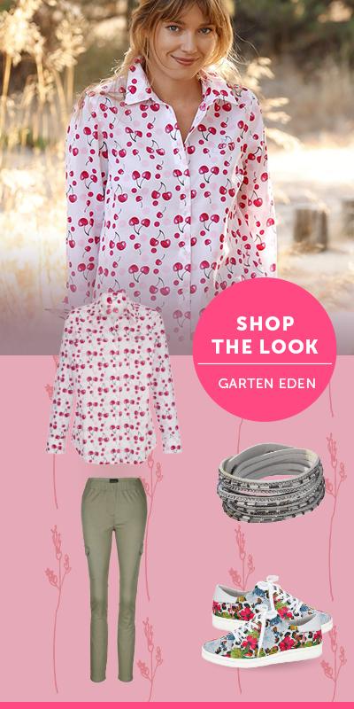 Die Farbenpracht Von Garten Eden Trendnuance Fuchsia Mode Trends Modestil