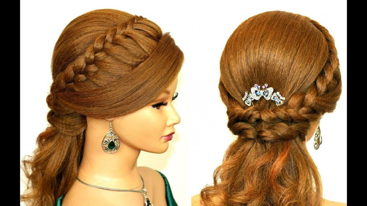 Easy Official Hairstyle in 10  Simple prom hair, Hair styles