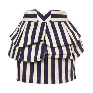 striped skirt I loved this at www.fashiolista.com