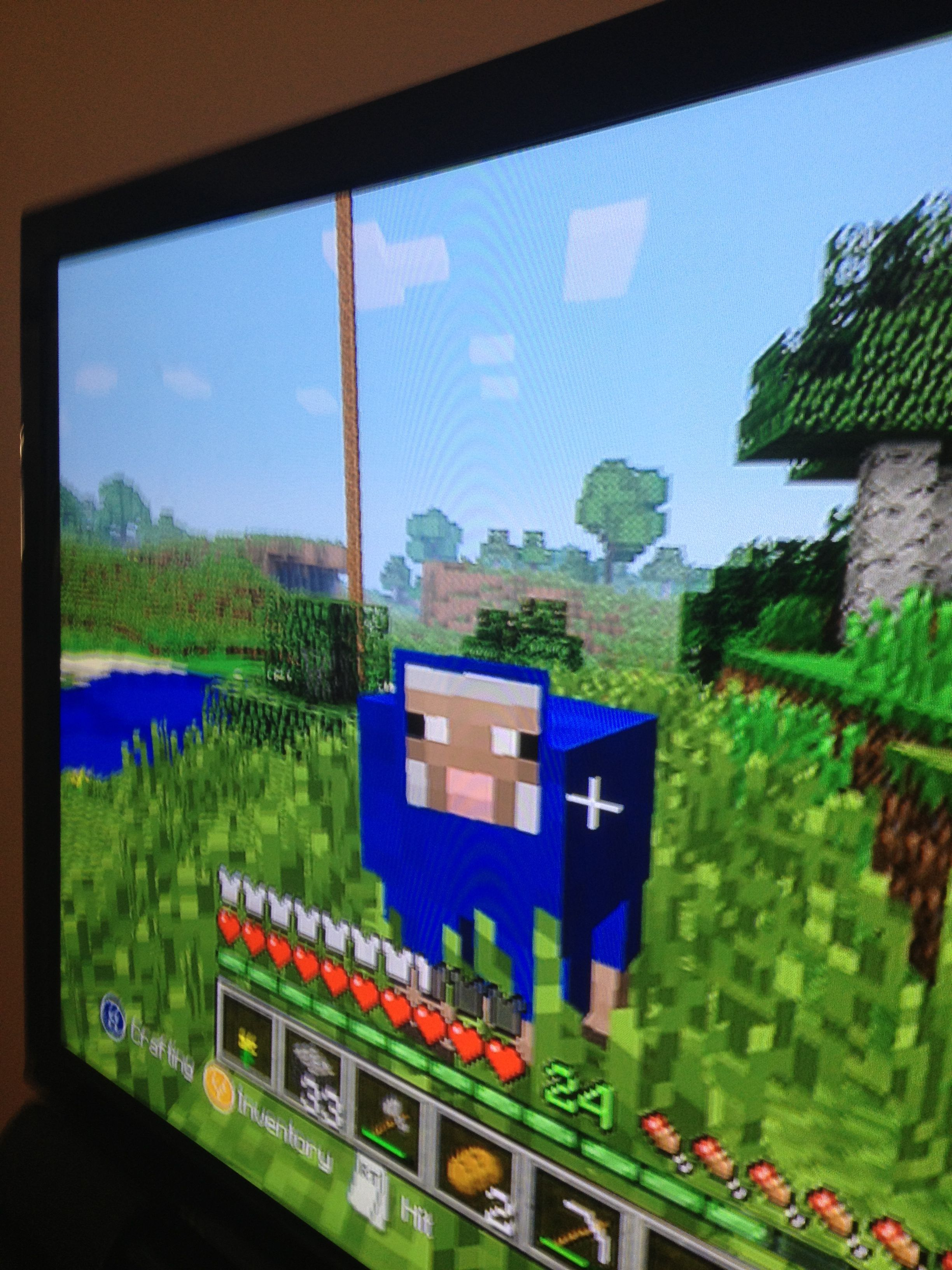 Blue dyed sheep Minecraft pe, Pics, Minecraft