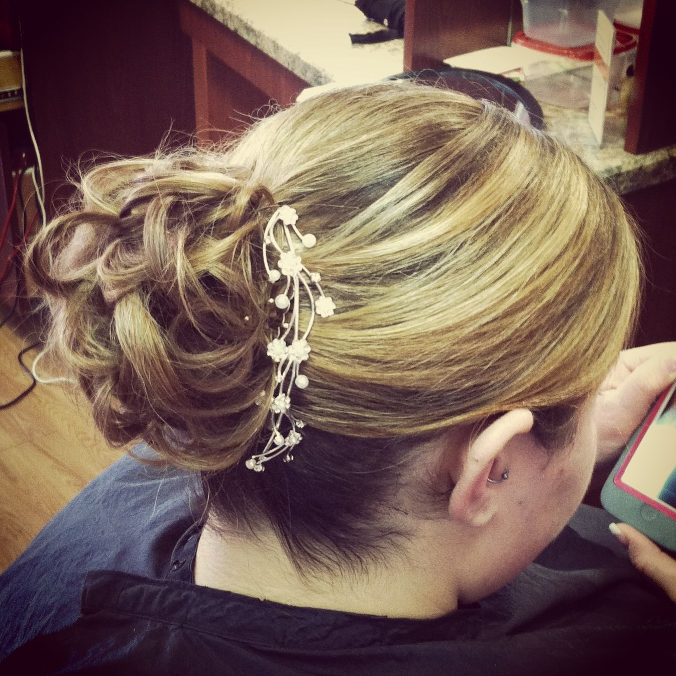Updo by Michael!!!