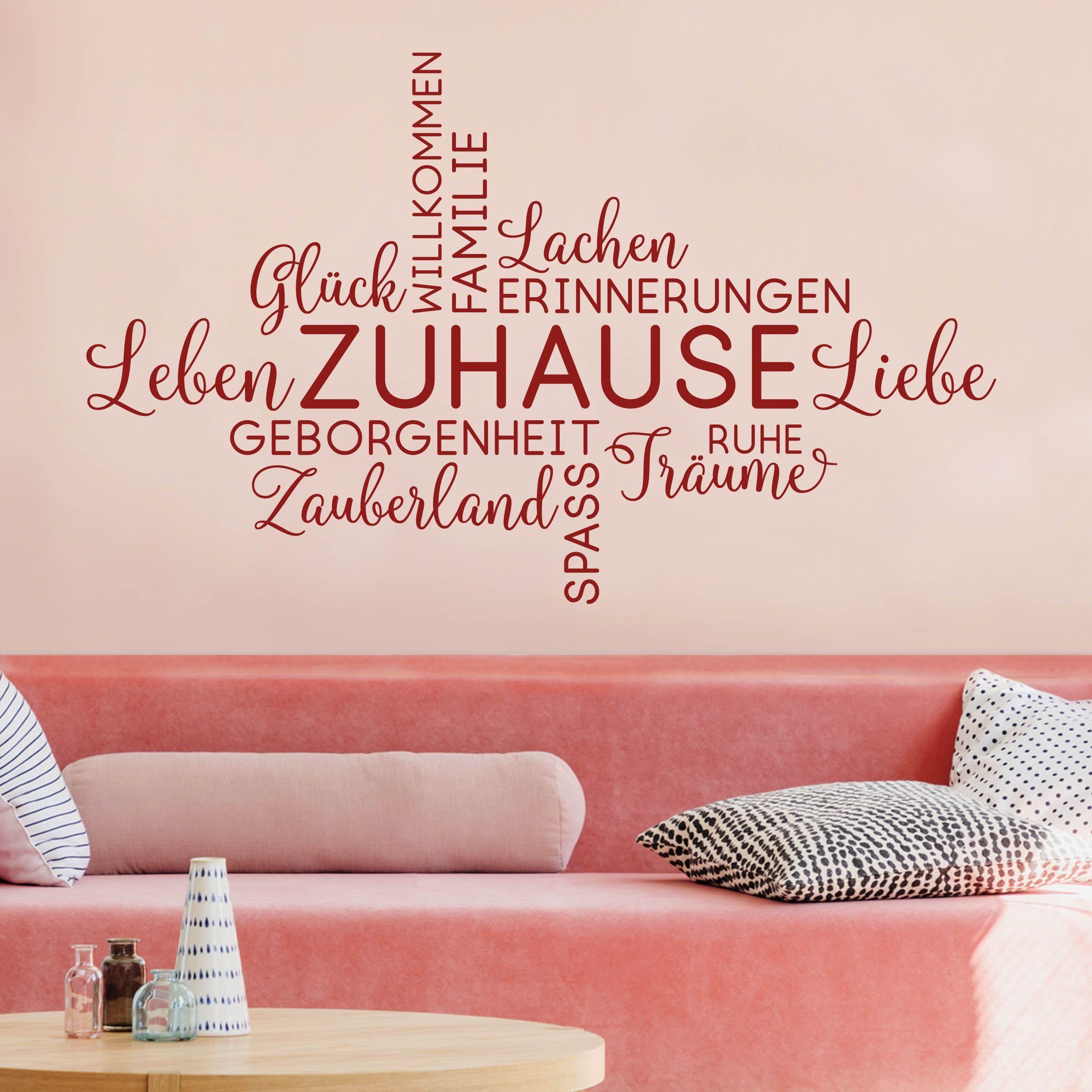 Du Mochtest Deine Wande Mit Einem Modernen Zuhause Spruch Verschonern Das Wandtattoo Zuhause In Worte Wandtattoos Spruche Wandtattoo Zitate Wandtattoo Spruche