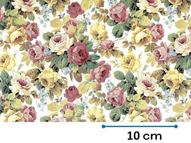 ROSE CHINTZ S/S (L) - Roterose