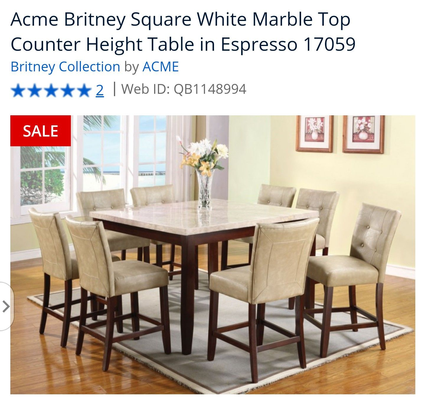 Pin By Pierinna Crovetto Martinez On Home Dining Table Marble Counter Height Dining Table Set Counter Height Dining Sets