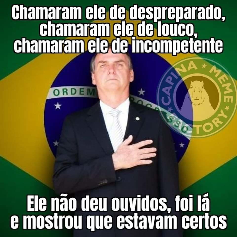 Mostrou que estavam certos   Jair Bolsonaro   Humor, Memes, Know your meme