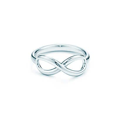 Tiffany & Co. -  Tiffany Infinity ring in sterling silver. Wish they made it in gold