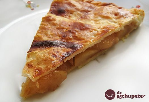 Empanada de manzana, pera y canela. Postre paso a paso - Recetasderechupete.com