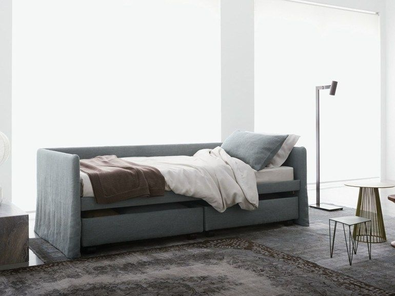 Fabric bed / day bed DUETTO - Flou | IntDesign | Pinterest | Camerette
