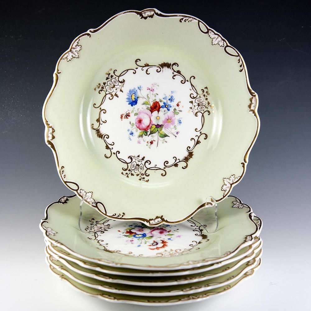 Father/'s Day Gift,Housewarming Gift Gold Trim FREE SHIPPING US English Fine  Bone China Salad Plate Mother/'s Day Gift Floral Transfer