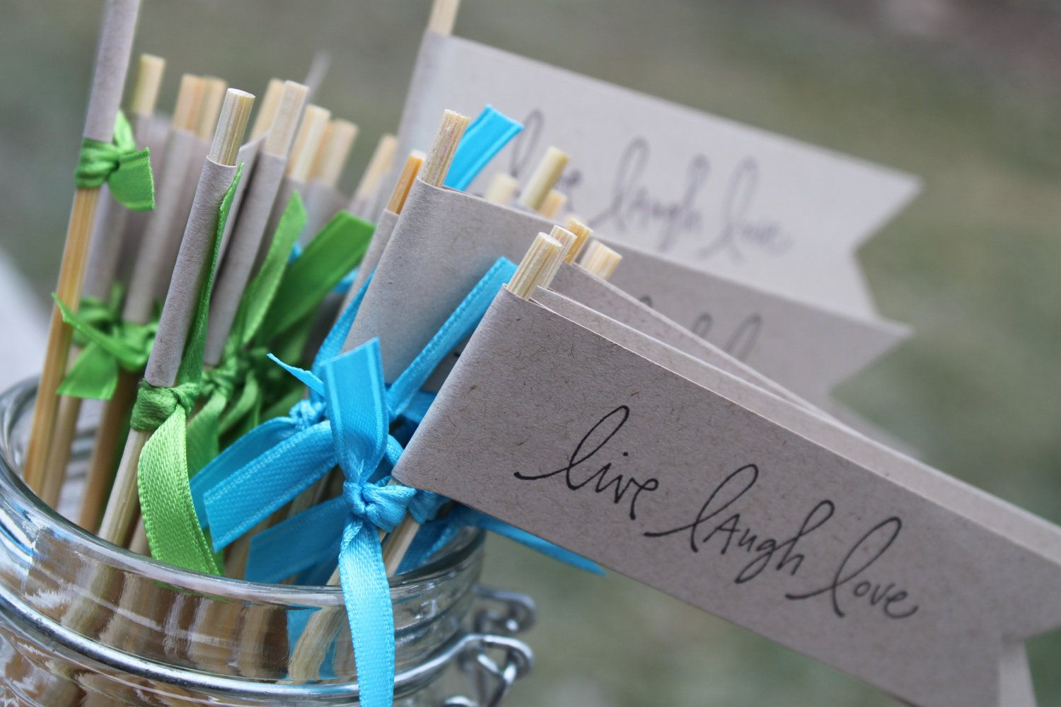 Why Not Have Custom Drink Stirrers For The Cocktail Hour At Your
