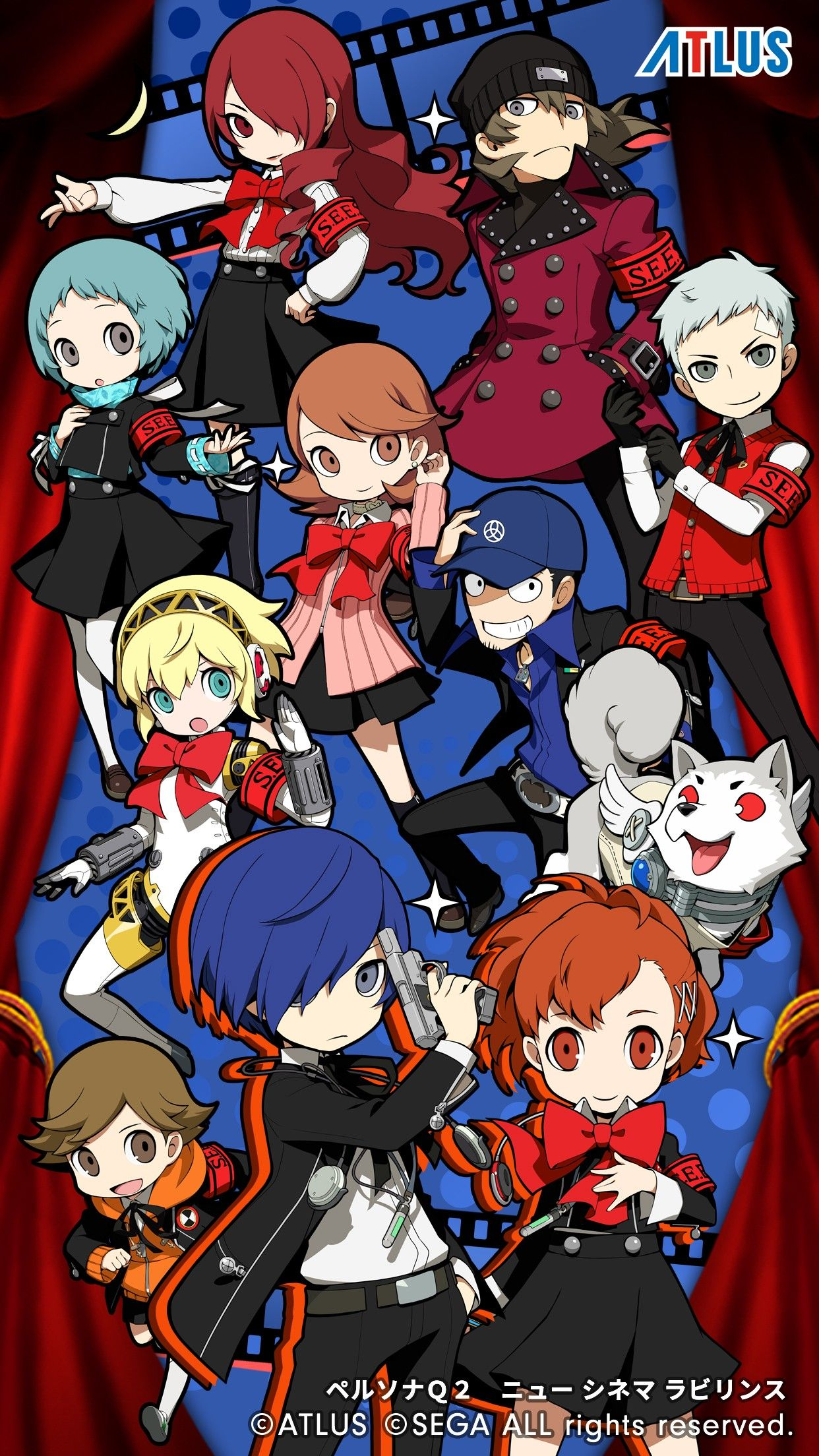 Persona Q2 New Cinema Labryinth Persona 3 デフォルメキャラ